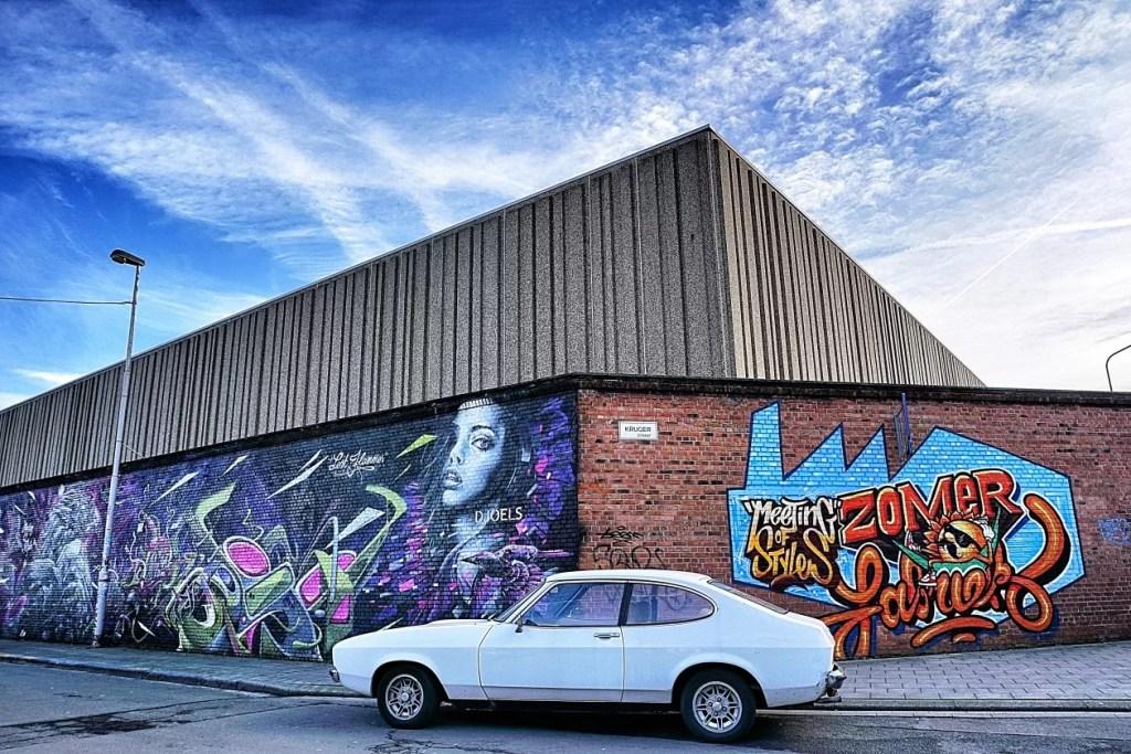 graffiti antwerpen Cogels Osylei