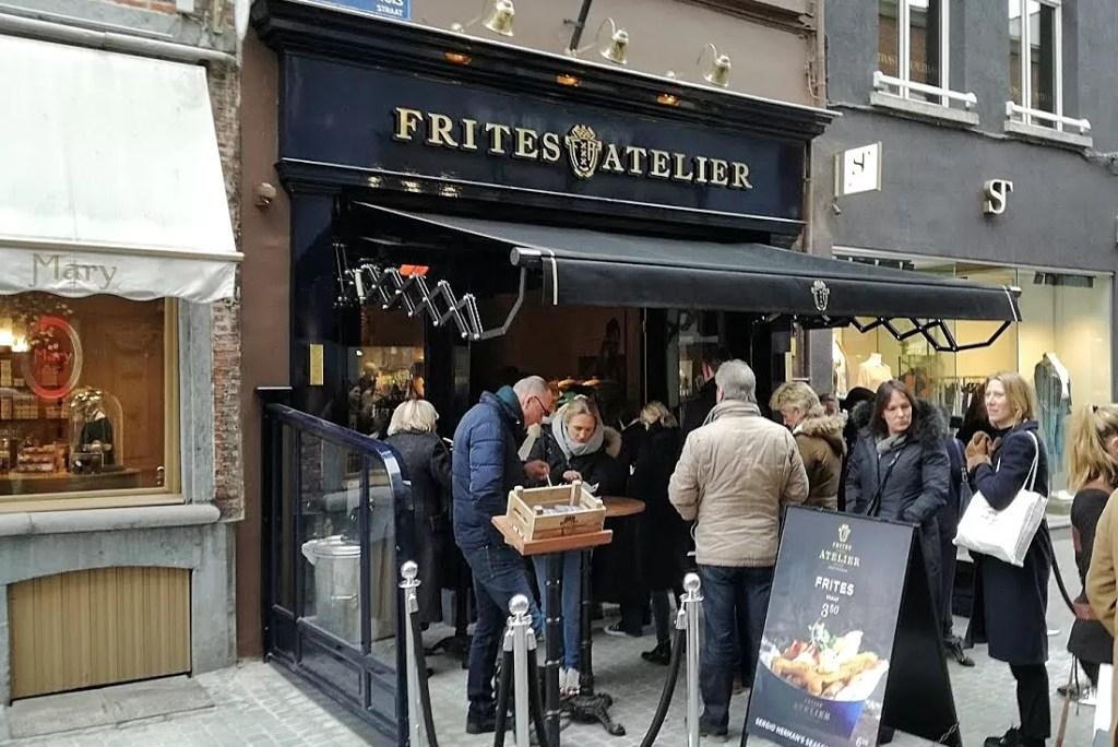 Hotspot: Frites Atelier Antwerpen (by Sergio Hermans)