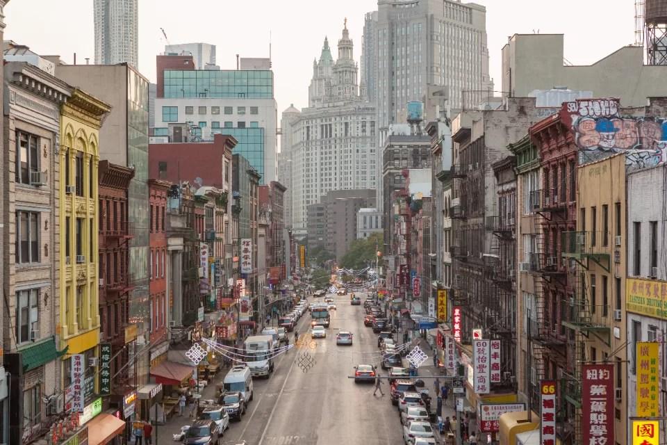 Ontdek alle Chinatowns van New York City