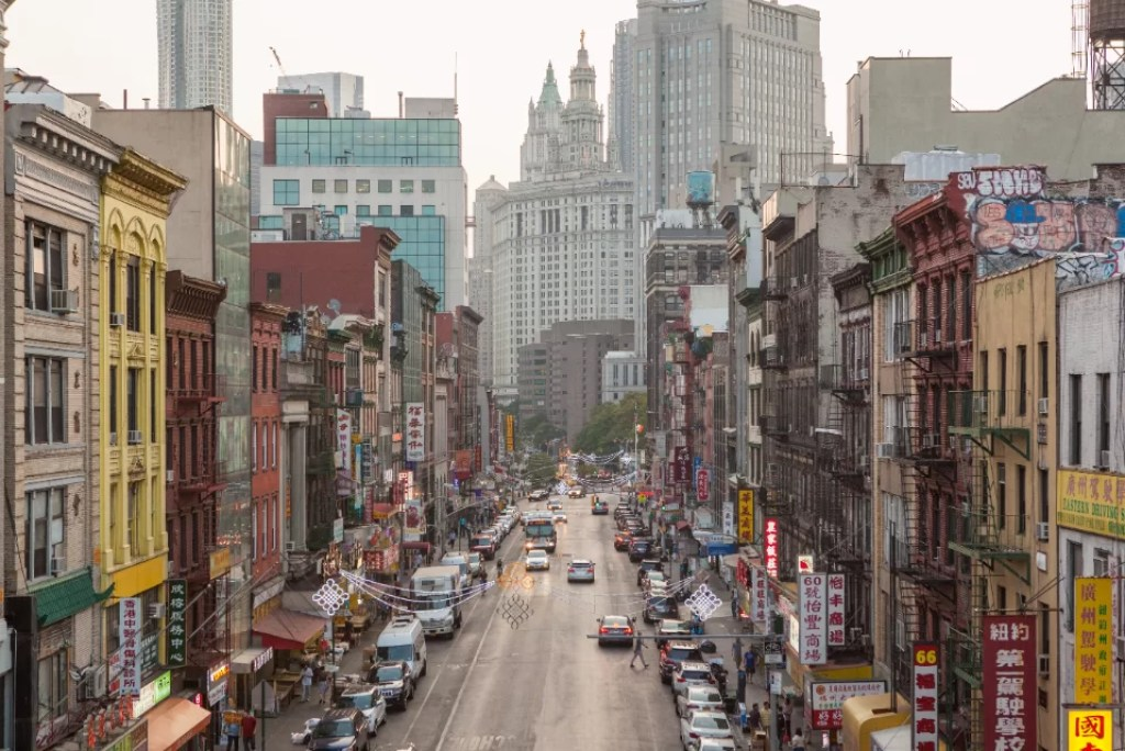 Ontdek alle Chinatowns van New York City