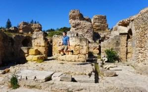 Carthago Tunesië ruines