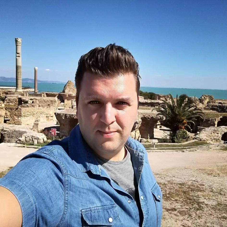 Vetexbart in Carthago Tunesië