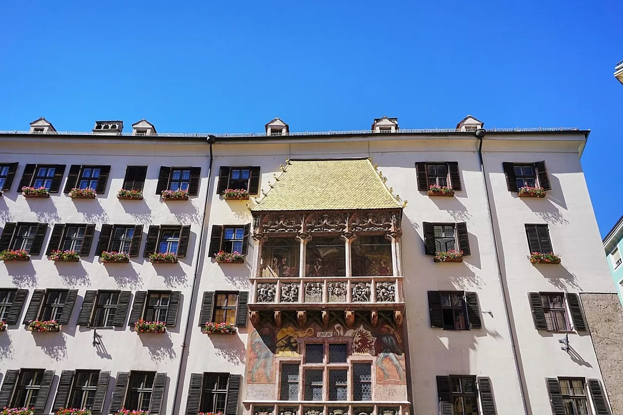 Het Gouden Dak Innsbruck