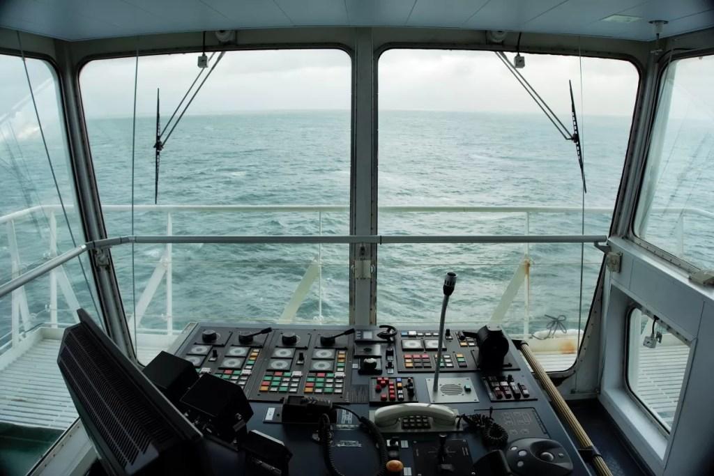 captains view vrachtschip göteborg