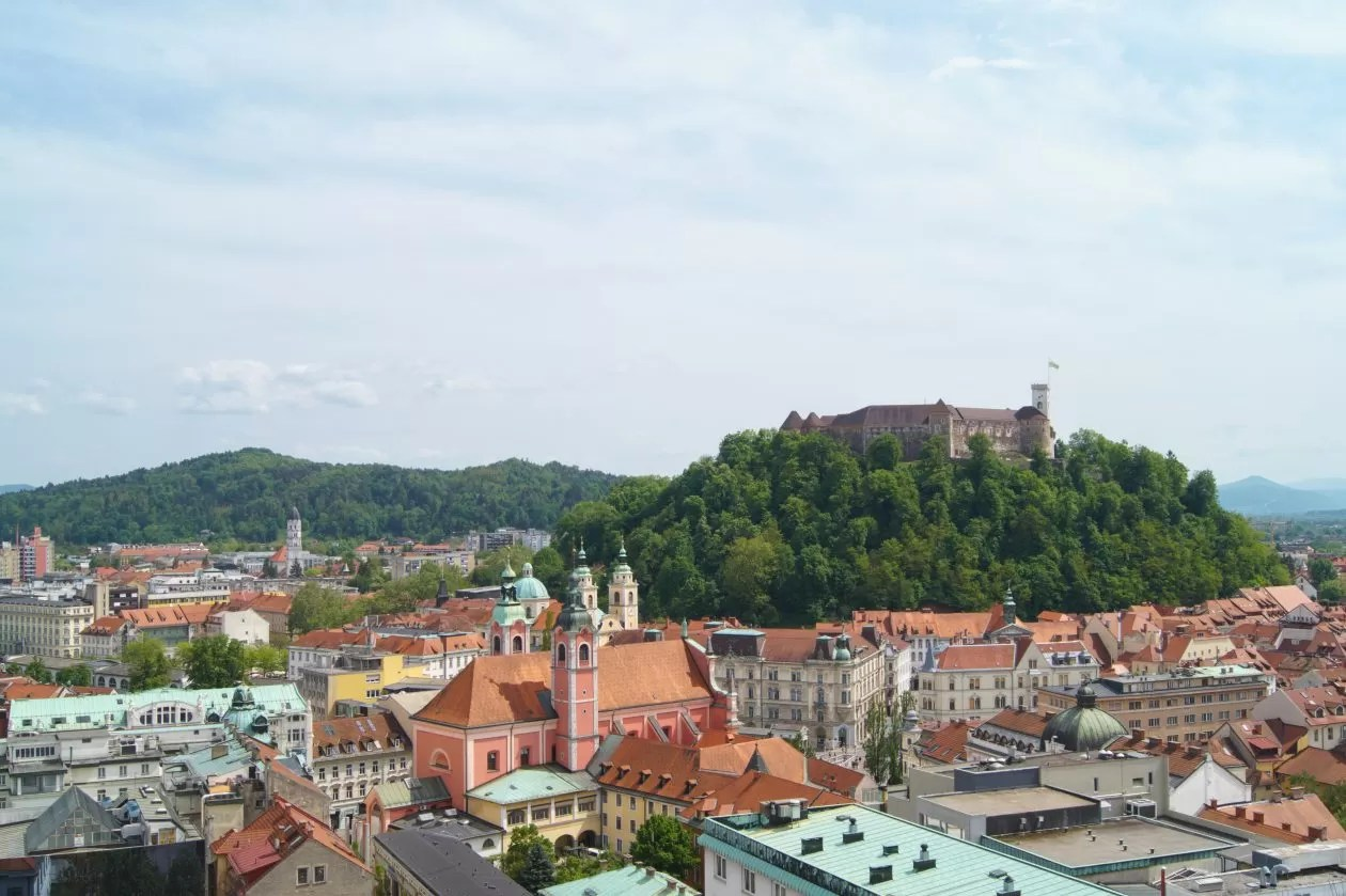Vijftig tinten groen: verborgen parel Ljubljana