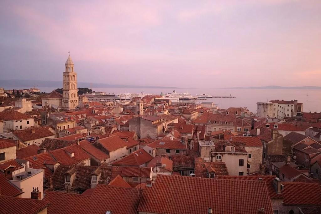 Split: citytrippen in een Romeins paleis