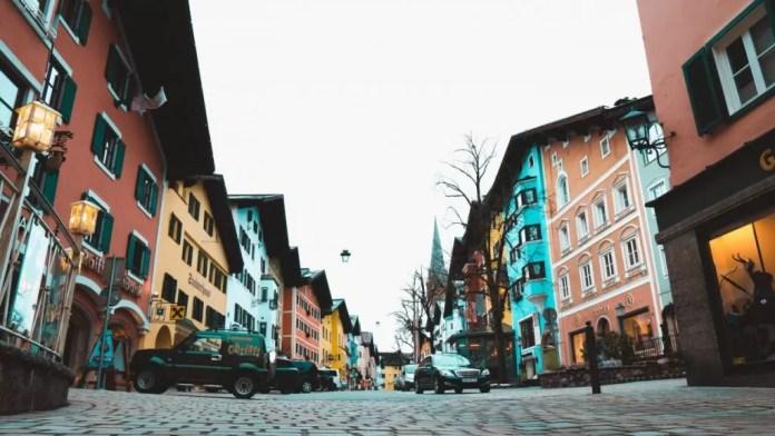 oude stad Kitzbühel