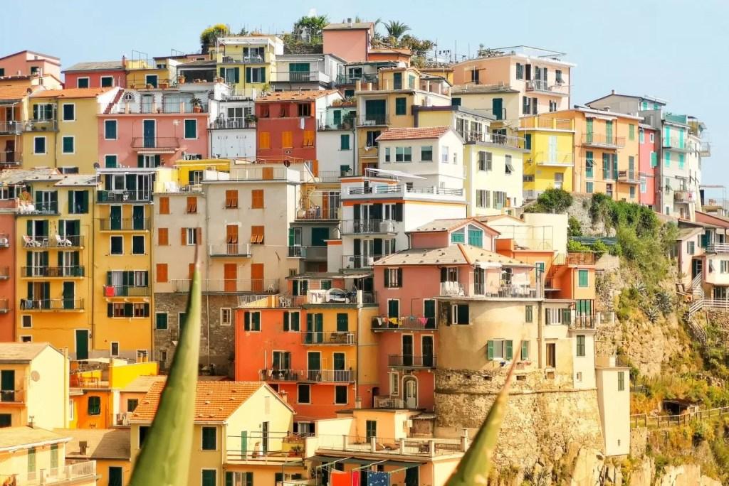 Tips om dorpjes Cinque Terre met trein te bezoeken