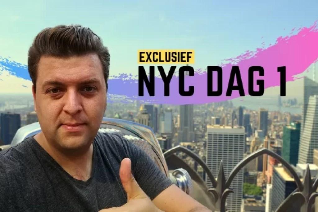 Zomerreeks (1): de eerste dag in New York
