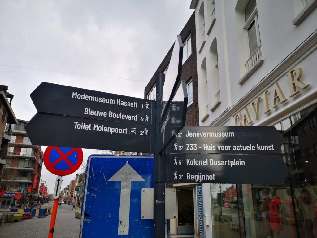 bezienswaardigheden in Hasselt centrum