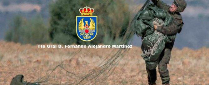 Tte. Gral Fernando Alejandre Martínez