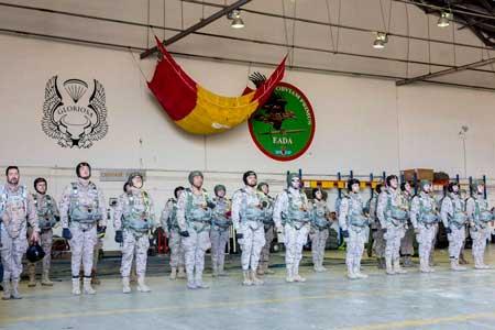 Entrenamiento paracaidistas EADA. VetPac