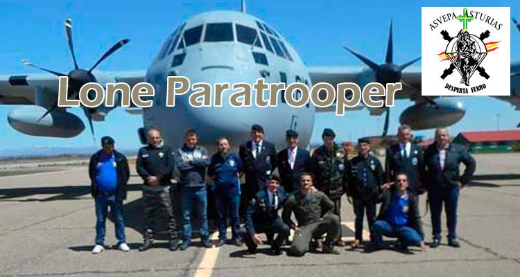 Lone Paratrooper Asvepa Asturias 2020