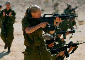 Servicio militar obligatorio de mujeres en ejercito israel