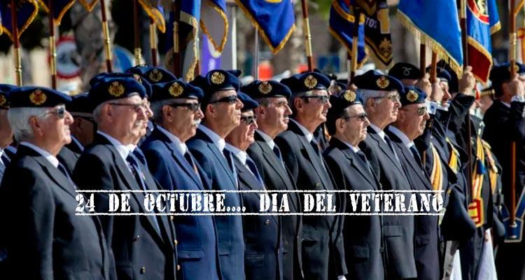 24 de octubre. Dia del veterano de las FAS y GC