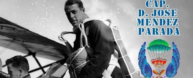Primer paracaidista militar de España. Jose Antonio Méndez Parada. Veteranos Paracaidistas de España