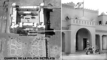 Plano Telata Sección Paracaidista del Tte. Ortíz de Zárate