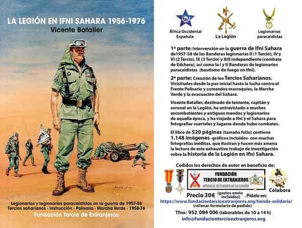 La Legión en Ifni Sahara 1956-1976. Veteranos Paracaidistas VetPac