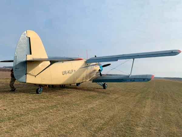 Antonov AN2. Curso paracaidistas de la EPA en Ukrania. VetPac