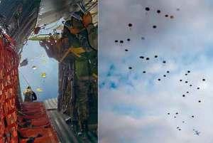 Curso paracaidista del GOE en 1996
