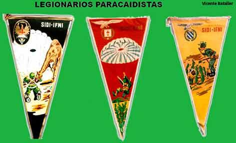 Finalizada la guerra, los paracaidistas marchan de Ifni a Alcalá y las Palmas