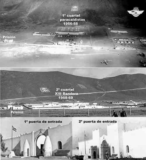 La XIII Bandera se instala en el cuartel de los paracaidistas