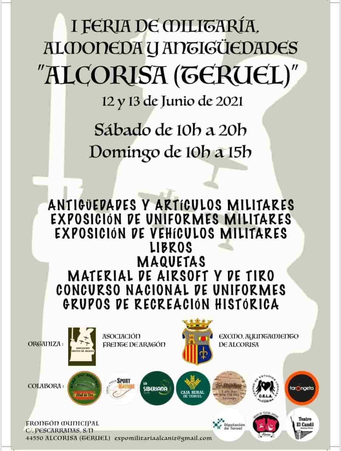 I Feria Militaria Alcorisa 2021