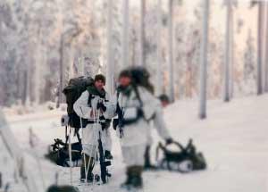 Entrenamiento militar de Montaña Col. Alberto Ayora