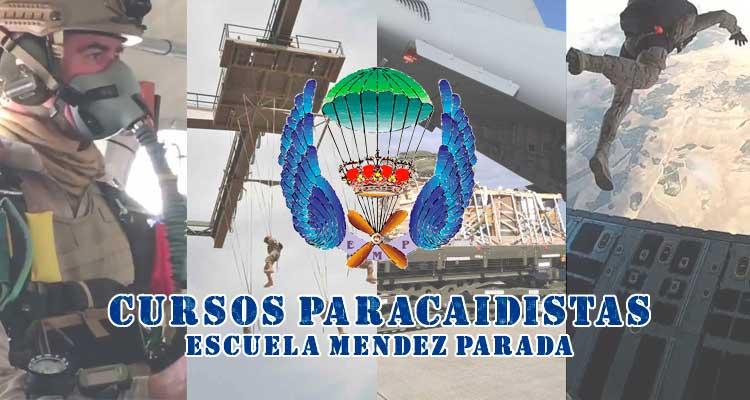 Cursos paracadistas de la Escuela Méndez Parada