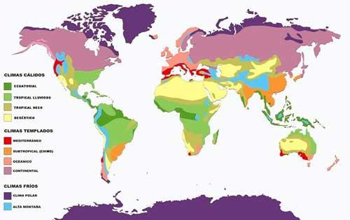 Climatologia global de la tierra