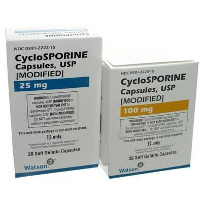 Cyclosporine for Dogs: Generic Modified Capsules - Dogs Medicine