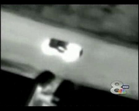 Police Officer Grabbed by Speeding Corvette