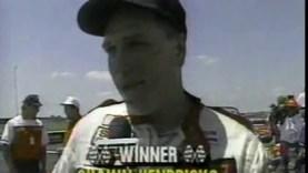 1989 Corvette Challenge Race Car Crash