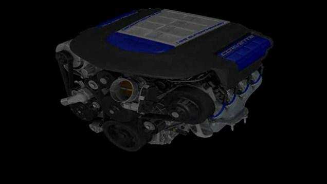 Corvette ZR1 LS9 Engine Build Animation