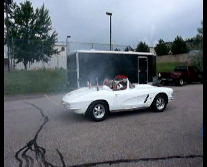 Corvette Action Center's Rowdy1 Burnout at CruiseFest