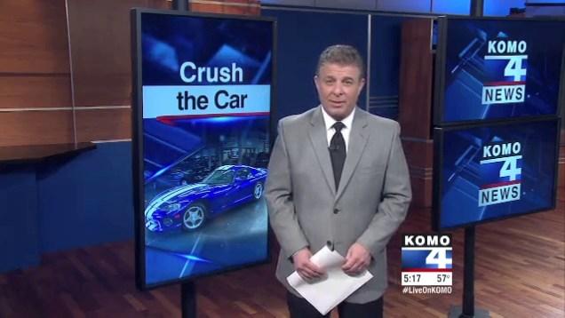 Olympia, Washington college ordered to crush rare 1992 Dodge Viper