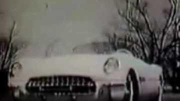 1953 Corvette Vintage TV Commercial Ad