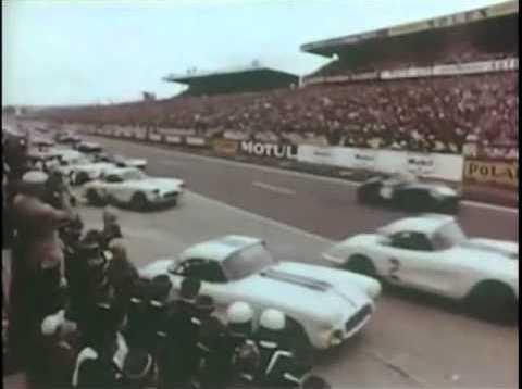 1960 24hrs of Le Mans Corvette Documentary