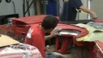 1960 Corvette Dash Pad Installation – Part 5