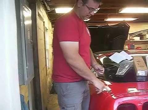 1996 Corvette Antenna Repair