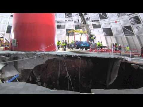 2009 Corvette ZR1 RECOVERED from NCM Sinkhole!
