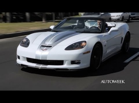 2013 Callaway Corvette 427 convertible – drive review video
