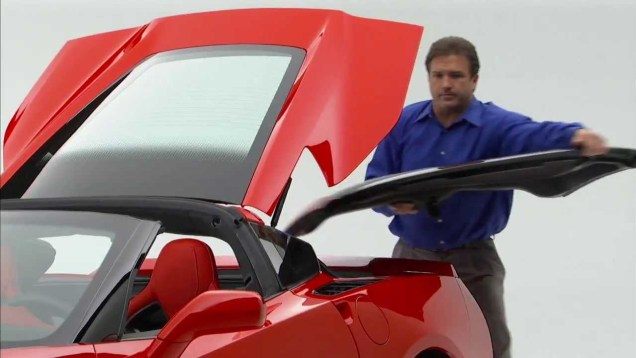 2014 Corvette Stingray Roof Panel Removal