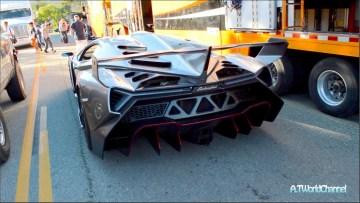 $4.5M Lamborghini Veneno & 50 Anniversary Aventador Roadster On the Road!