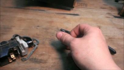 C3- Corvette Dash Board-Headlight Switch and Knob Removal