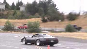 C4 Callaway Corvette ZR-1 Autocross