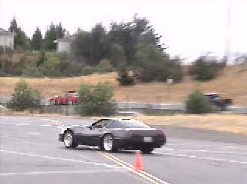 Callaway Corvette ZR-1 autocross