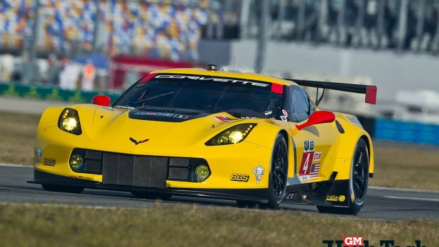 Corvette Racing C7.Rs at 24 Hours of Daytona 2014
