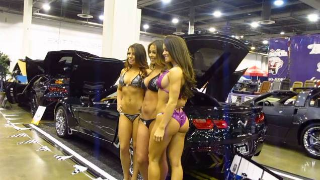 Corvette/Chevy Expo 2014 — Bikini Photo Shoot #2