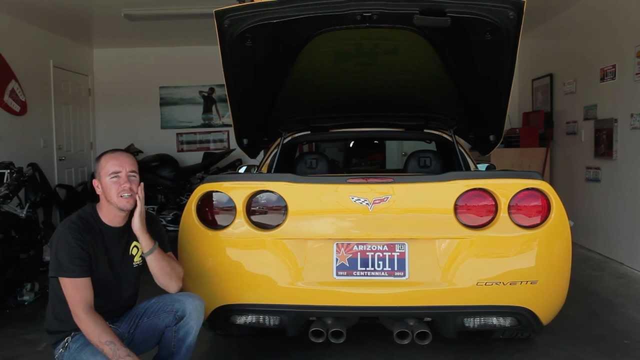 DIY Corvette Taillight Tint | VetteTube – Corvette Videos